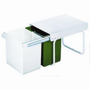 wesco abfallsammler master boy 40 dt gr n wei 230000681. Black Bedroom Furniture Sets. Home Design Ideas