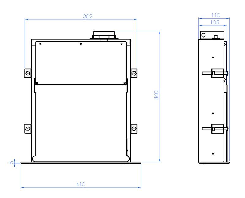 gronbach b6 sockelsauger 600 w 250000005. Black Bedroom Furniture Sets. Home Design Ideas