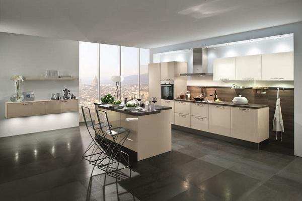 Häcker Küche Neo C354 Kaschmir Glänzend-310000013