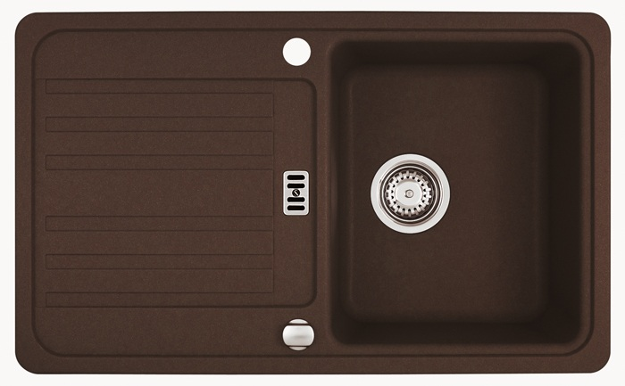 franke euroform 614 78 chocolate mit exenterbedienung 200000768. Black Bedroom Furniture Sets. Home Design Ideas