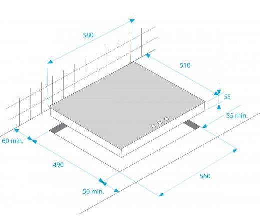 beko hii 64400 atx kochfeld induktion autark 120000728. Black Bedroom Furniture Sets. Home Design Ideas